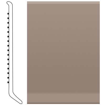 image of Roppe 4 Inch 1/8 Vinyl Cove Base Fawn Vinyl Flooring