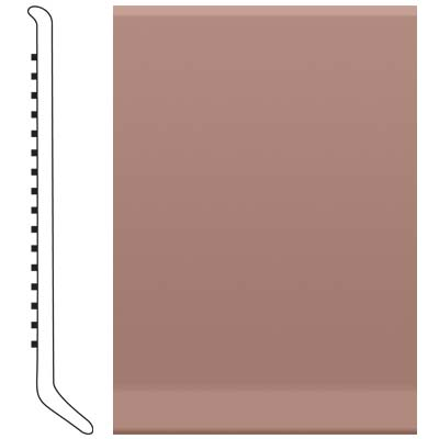 image of Roppe 2.5 Inch 0.080 Vinyl Cove Base Golden Honey Vinyl Flooring