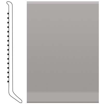 image of Roppe 4 Inch 0.080 Vinyl Cove Base Slate Vinyl Flooring