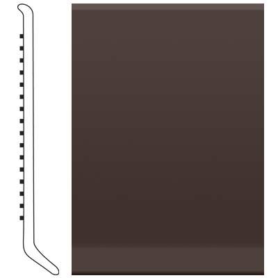 image of Roppe 6 Inch 0.080 Vinyl Cove Base Brown Vinyl Flooring