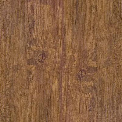 image of Starloc Commerce Handscraped Hickory Brown Vinyl Flooring