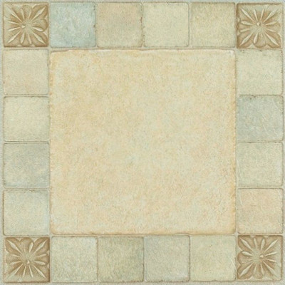 "image of Nexus 12"" x 12"" Vinyl Tile in Almond"