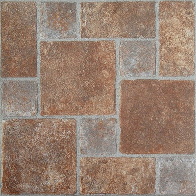 "image of Nexus 12"" x 12"" Vinyl Tile in Brick Pavers"