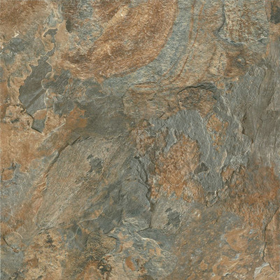 "image of Alterna Mesa Stone 16"" x 16"" Vinyl Tile in Canyon Sun"