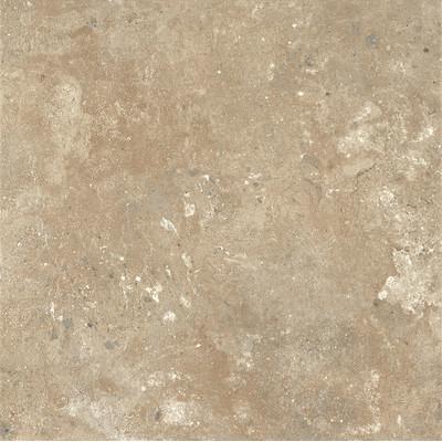"image of Alterna Aztec Trail 16"" x 16"" Vinyl Tile in Almond Cream"