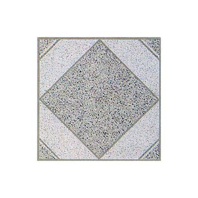 "image of Home Dynamix 12"" x 12"" Vinyl Tile in White Stone Diamond"