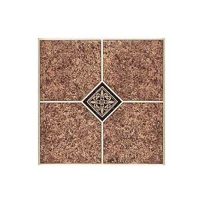 """image of Home Dynamix 12"""" x 12"""" Vinyl Tile in Marble Traditional Quantity: 30 Pieces"""