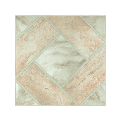 """image of Home Dynamix 12"""" x 12"""" Vinyl Tile in Light Marble Diamond Floor"""