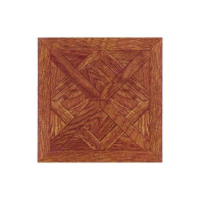 "image of Home Dynamix 12"" x 12"" Vinyl Tile in Machine Wood Cross Diamond"