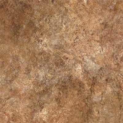 """image of Congoleum Ovations Textured Slate 14"""" x 14"""" Vinyl Tile in Clay"""
